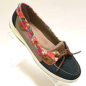 Sperry Top Sider Angelfish Leather Boat Shoes 12